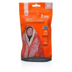 Одеяло выживания Sol Heatsheets 1 Person Emergency Survival Blanket